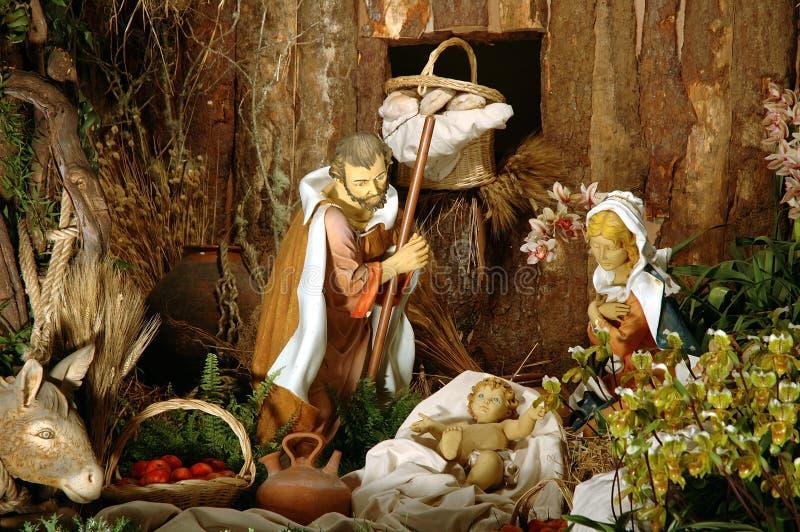 Download Geboorte van Christus stock foto. Afbeelding bestaande uit kruis - 277084