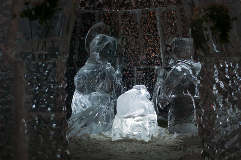 Geboorte van Christus van Jesus stock afbeeldingen