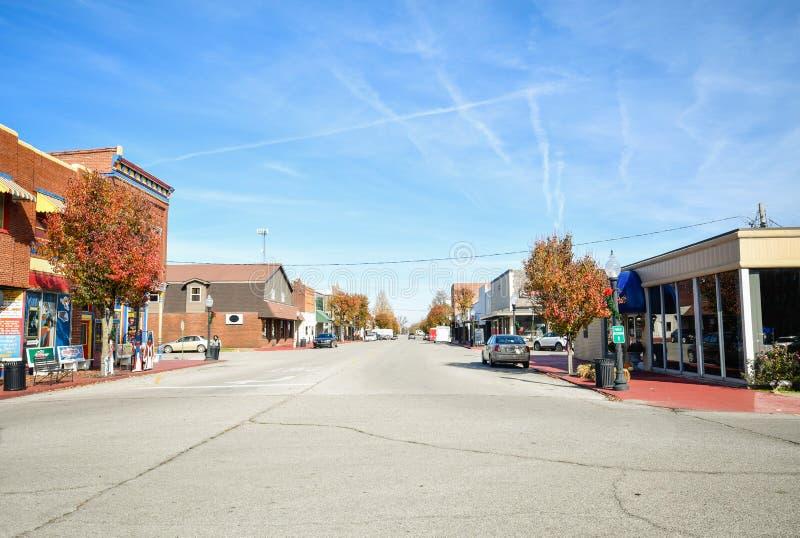 Geboortestad de van de binnenstad van de Metropool van Superman royalty-vrije stock foto