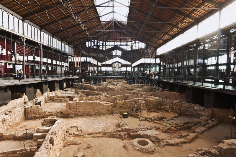 Geboren de markt cultureel centrum van Gr, Barcelona royalty-vrije stock fotografie