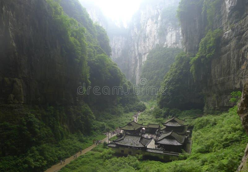Geboren drie Qiao royalty-vrije stock foto