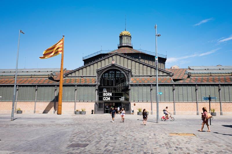 Geboren markt, Barcelona, Spanje royalty-vrije stock afbeeldingen