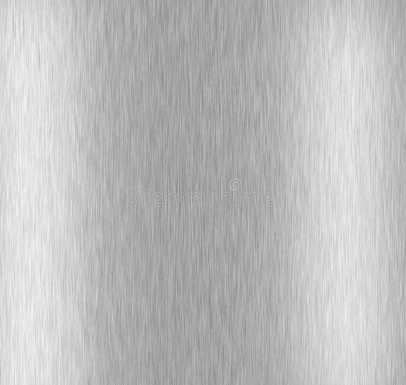 Geborsteld Aluminium stock afbeelding