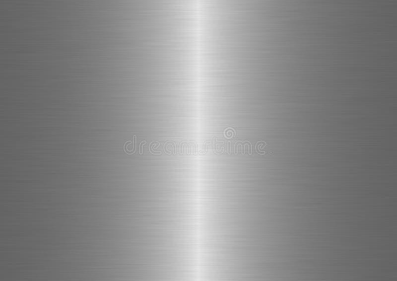 Geborsteld metaal stock illustratie