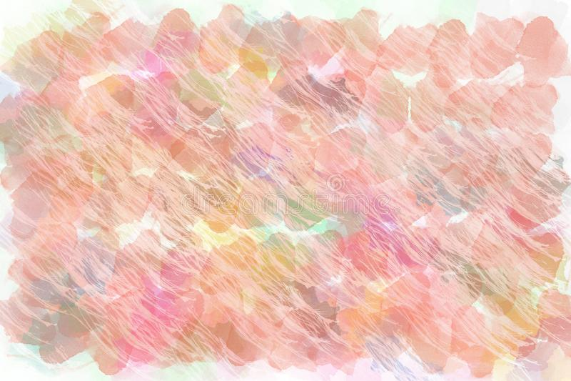 Geborstelde geschilderde abstracte achtergrond Borstel het gestreken schilderen stock afbeeldingen