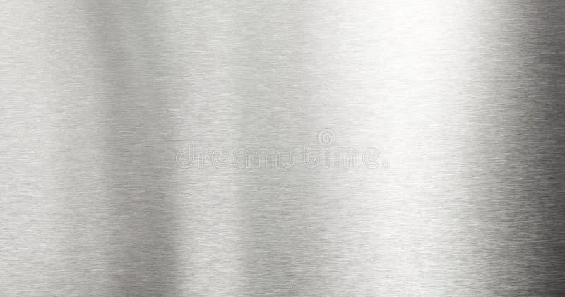 Geborstelde metaalachtergrond stock afbeeldingen