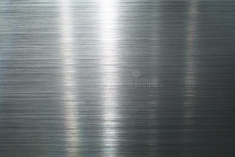 Geborstelde metaalplaat stock afbeeldingen