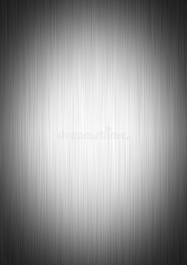 Geborstelde metaalplaat vector illustratie