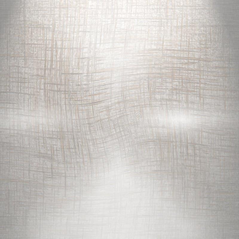Geborstelde metaalplaat stock illustratie
