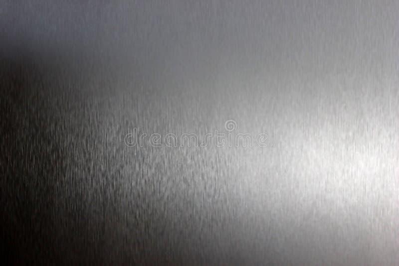 Geborstelde metaaltextuur stock afbeeldingen