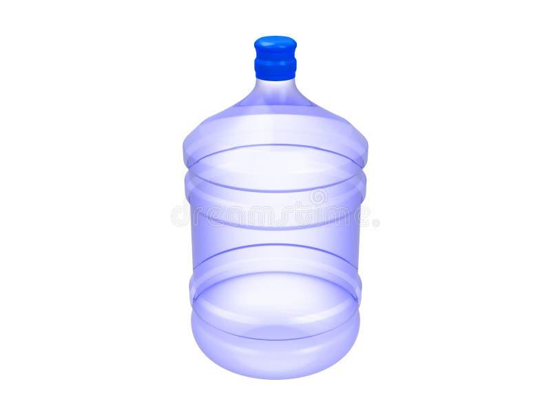 Gebotteld water royalty-vrije illustratie