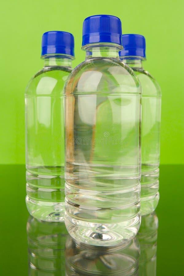 Gebotteld Water stock foto's