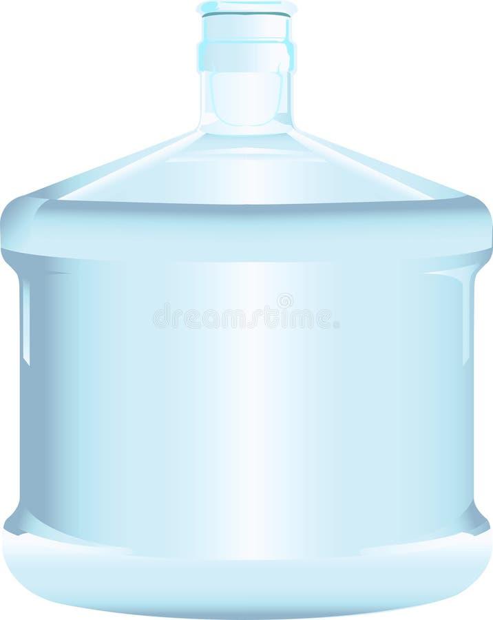 Gebotteld water stock illustratie