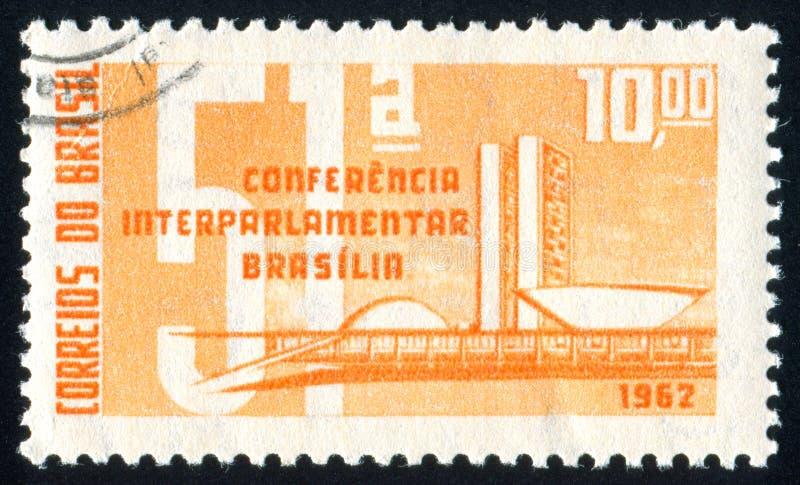 Gebouwen Brasilia royalty-vrije stock foto's