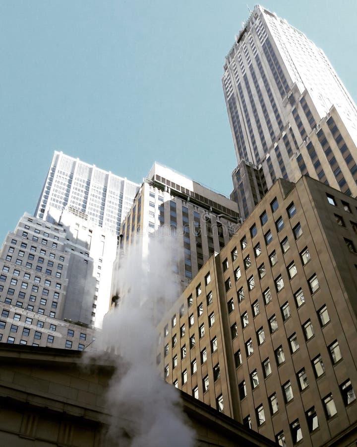 Gebouwen in New York royalty-vrije stock afbeelding