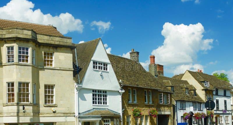 Gebouwen van Chippenham royalty-vrije stock afbeelding