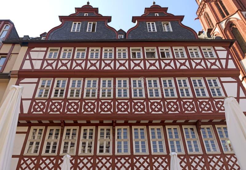 Gebouwen van historische Roemer-plaats royalty-vrije stock foto