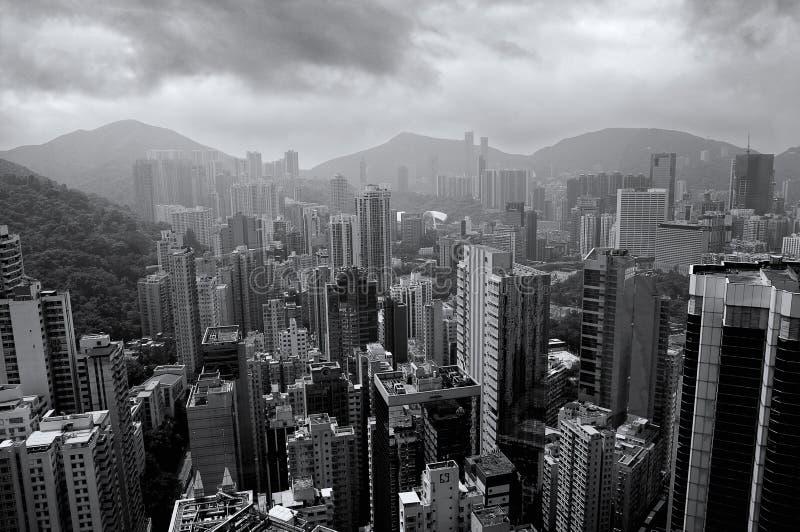 Gebouwen van HK royalty-vrije stock fotografie