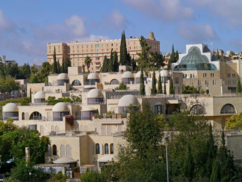 Gebouwen in West-Jeruzalem royalty-vrije stock fotografie