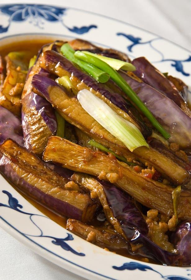 Gebraden aubergine royalty-vrije stock foto