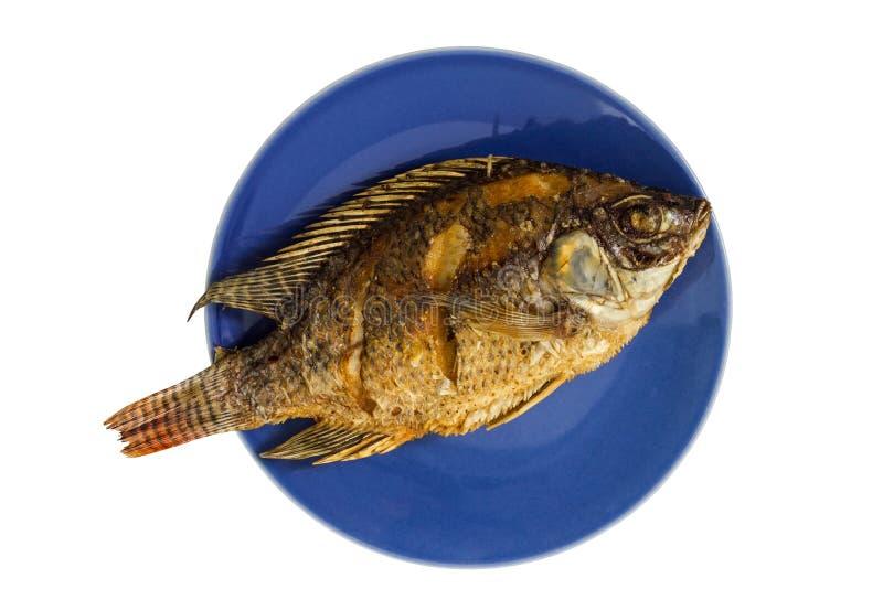 Gebraden vissen stock foto
