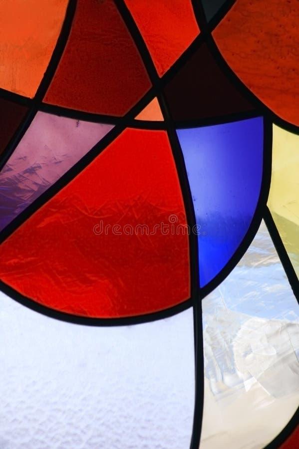 Gebrandschilderd glas 1 stock afbeelding