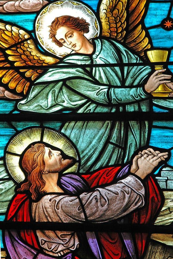 Gebrandschilderd glas 3 royalty-vrije stock foto