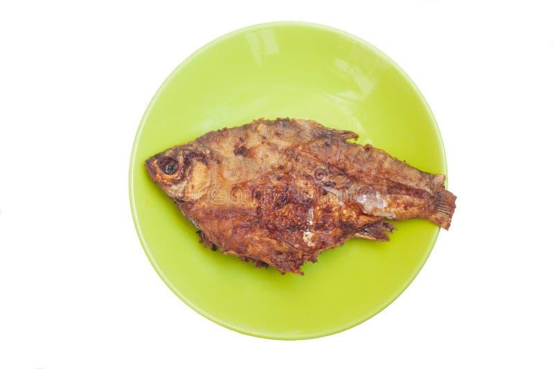 Gebratene in Essig eingelegte Fische lizenzfreie stockfotografie