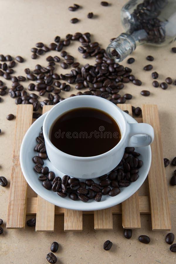 Gebratener Kaffee stockbild