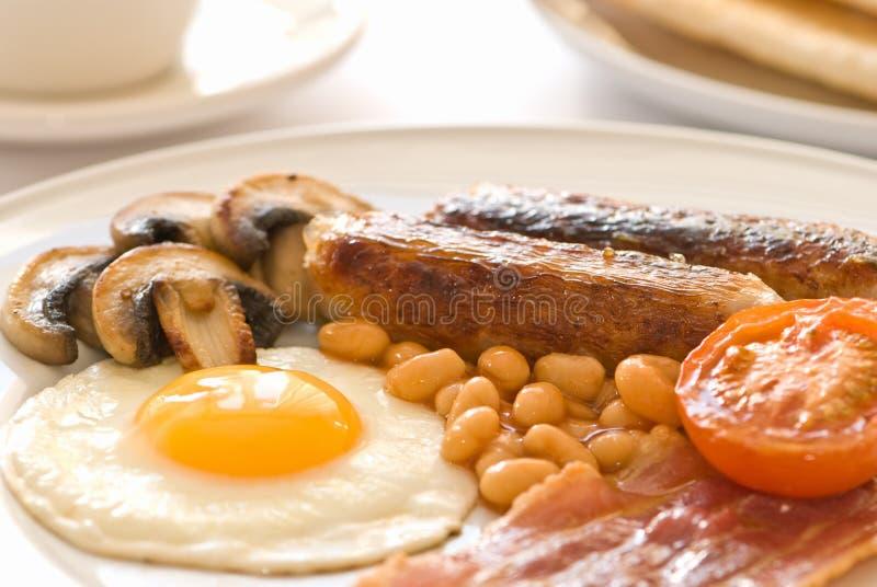 Gebratenes Frühstück stockbild