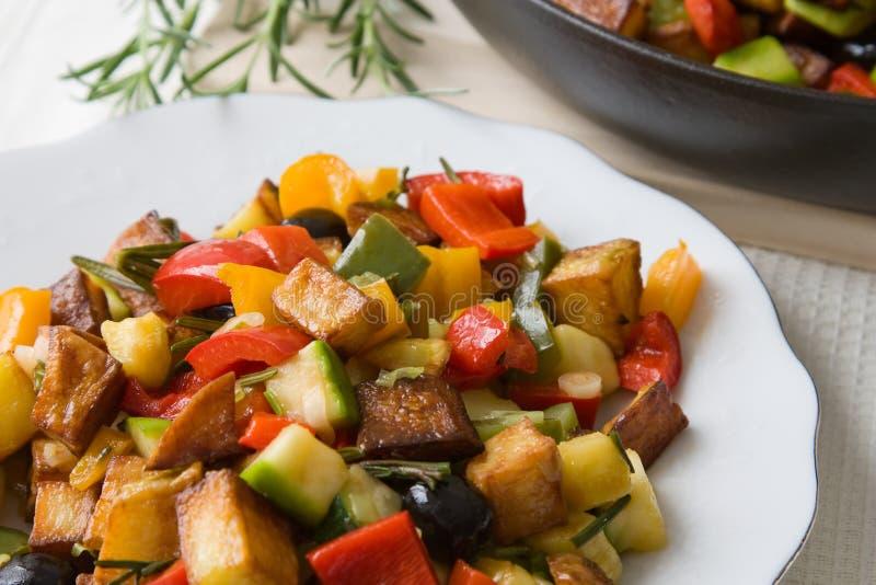 Gebratenes Gemüse lizenzfreie stockfotografie