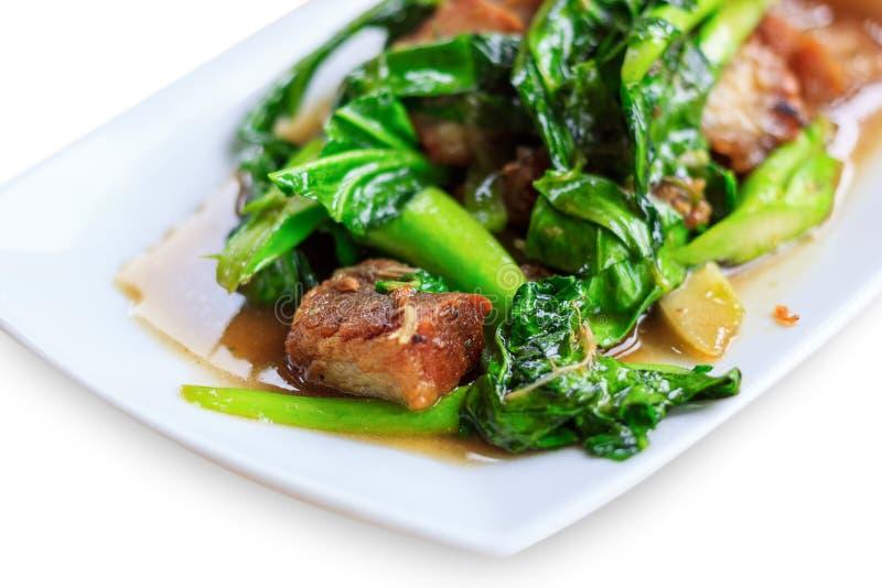 Gebratenes Gemüse Thailands Lebensmittel stockbilder