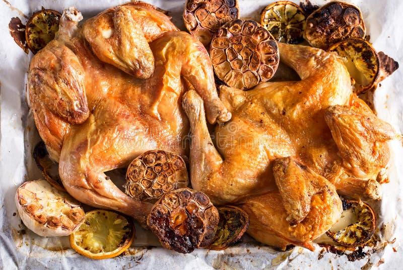 Gebratenes Huhn stockbilder