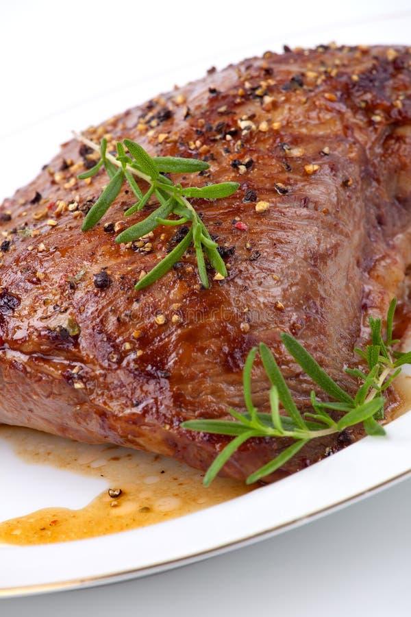 Gebratenes Rindfleisch lizenzfreie stockfotos