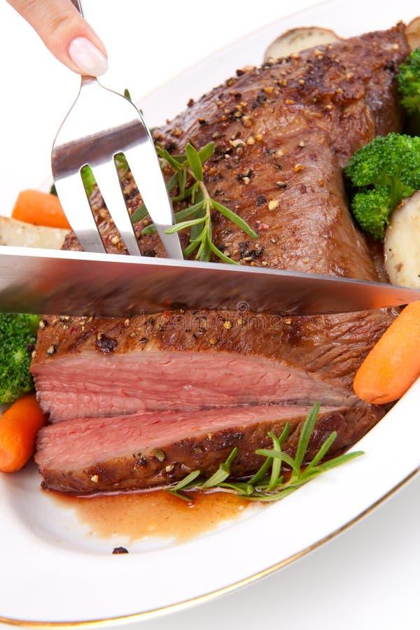 Gebratenes Rindfleisch lizenzfreie stockfotografie