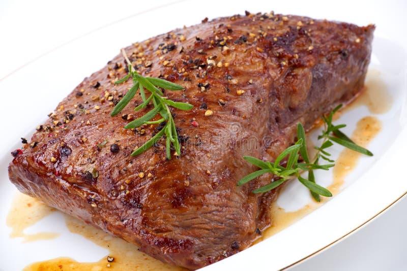Gebratenes Rindfleisch stockfoto