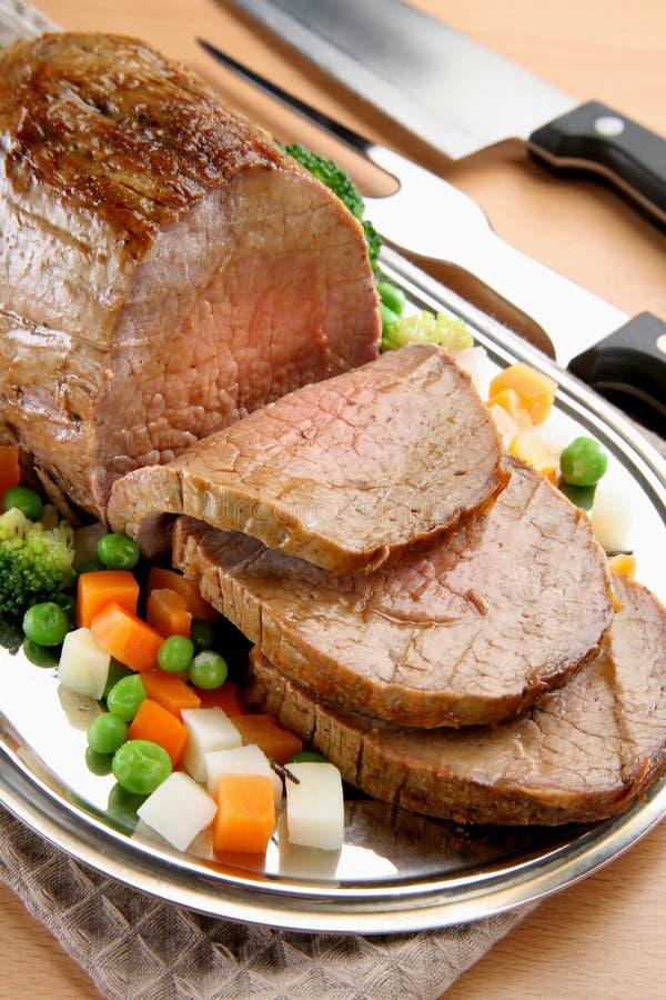 Gebratenes Rindfleisch stockfotografie