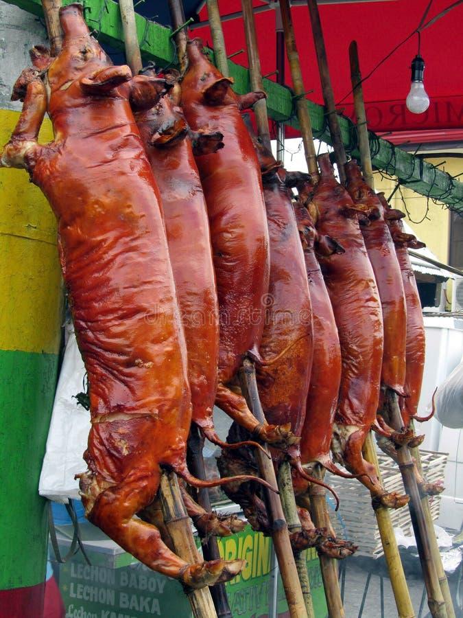 Gebratenes Schwein lizenzfreie stockbilder