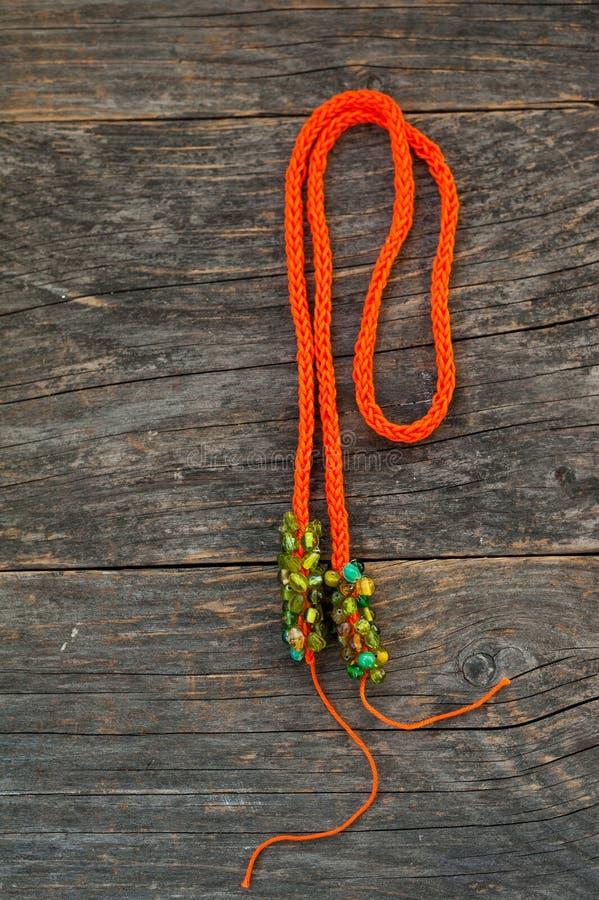 Gebreide halsband stock afbeeldingen