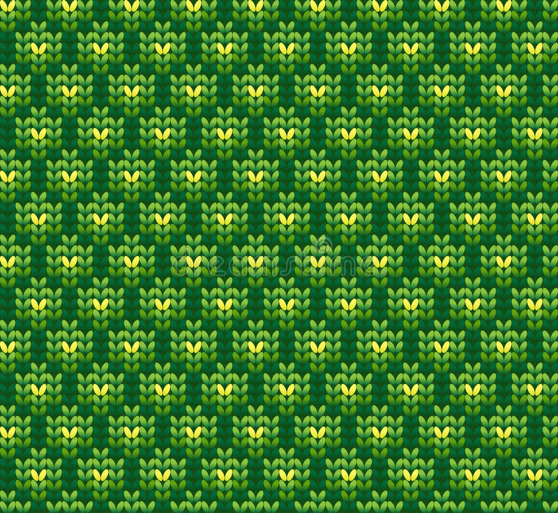 Gebreide wol vectorachtergrond vector illustratie