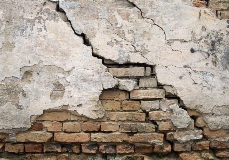 Download Gebrochene Wand stockbild. Bild von sprung, städtisch, ziegelstein - 26907