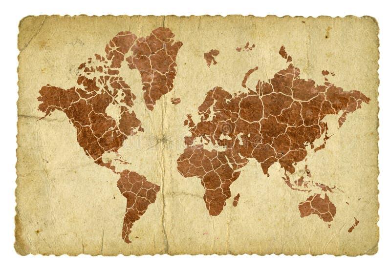 Download Gebrochene Welt stock abbildung. Illustration von amerika - 5214863
