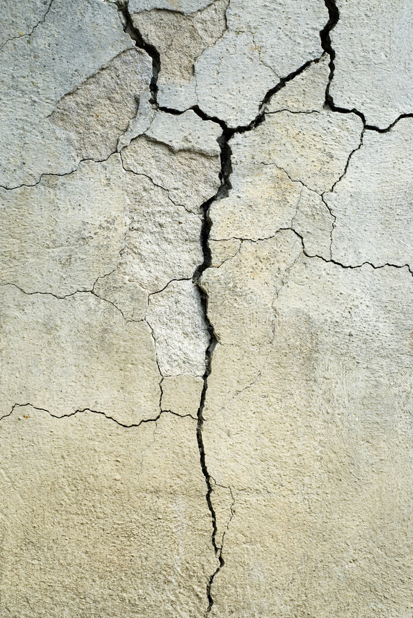 Gebrochener Beton stockbilder
