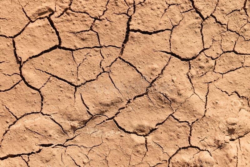 Gebrochener brauner Oberflächenboden für Hintergrund stockfoto