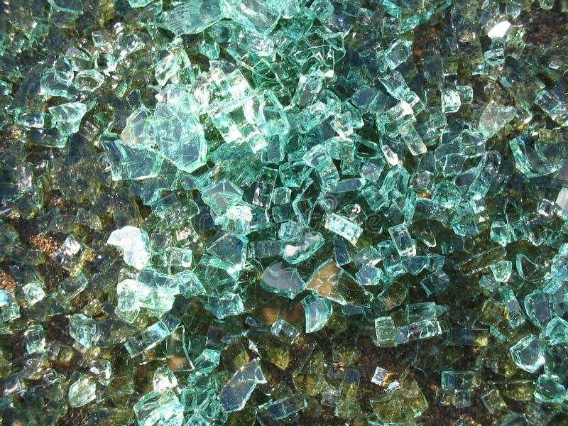 Gebrochener Glashintergrund lizenzfreie stockfotografie