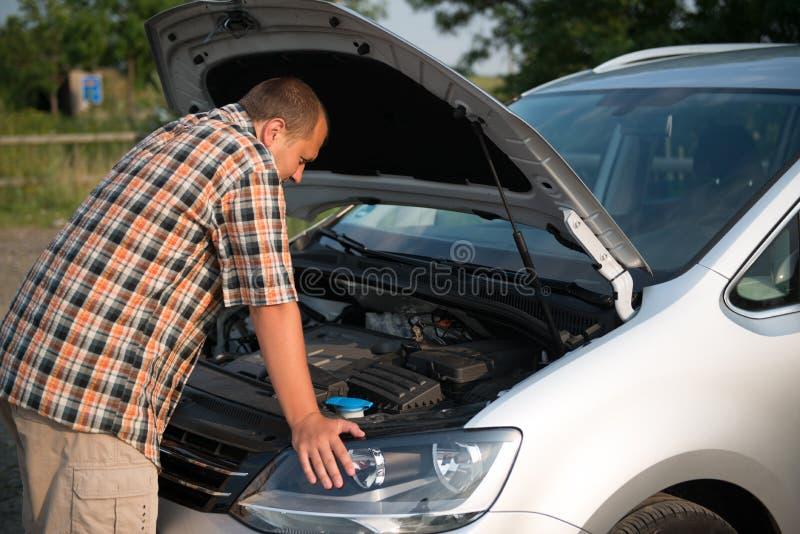 Gebroken auto stock foto's