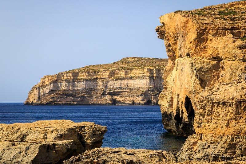 Gebroken Azure Window, Gozo royalty-vrije stock foto's