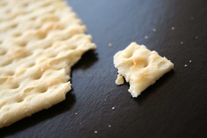 Gebroken biscotti royalty-vrije stock foto