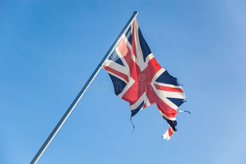 Gebroken Brits imperium stock afbeelding