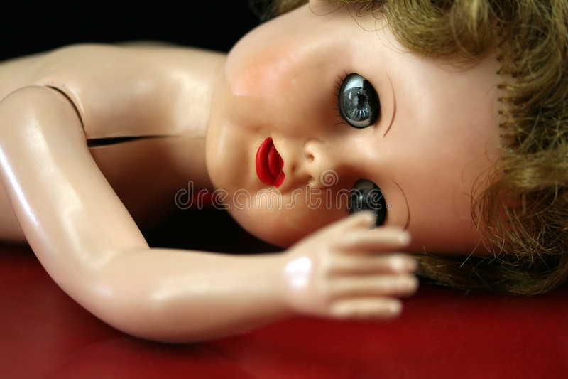 Gebroken Doll royalty-vrije stock fotografie